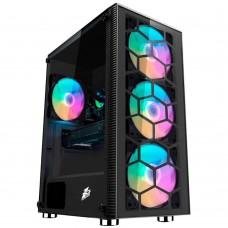 Компьютерный корпус 1stPlayer FIREBASE X7-G Black
