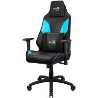 Кресло компьютерное игровое AeroCool Admiral Black-Blue