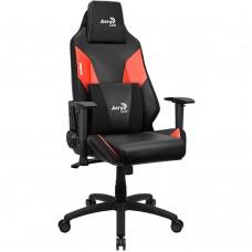 Кресло компьютерное игровое AeroCool Admiral Black-Red