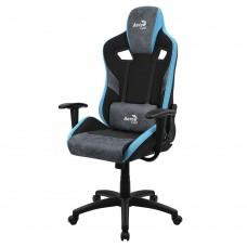 Кресло компьютерное игровое AeroCool Count Steel Blue