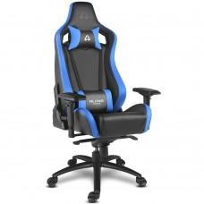 Кресло компьютерное игровое Alpha Gamer Polaris Racing Black-Blue