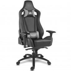 Кресло компьютерное игровое Alpha Gamer Polaris Racing Black