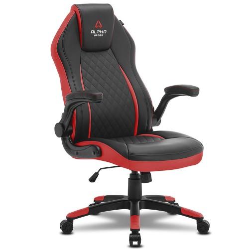 Кресло компьютерное игровое Alpha Gamer Sirius Black-Red
