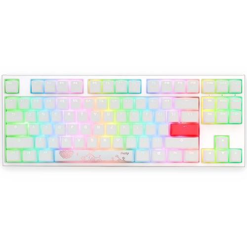 Клавиатура Ducky One 2 TKL RGB White