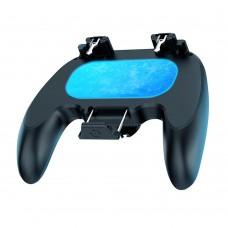 Игровой контроллер H12 c кулером беспроводная для смартфонов. Геймпад джойстик для мобильных игр (PUBG, Fortnite)