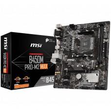 Материнская плата MSI B450M PRO M2 MAX
