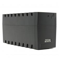 Источник бесперебойного питания UPS Powercom RPT-600A EURO 12/7.2Ah (360V)