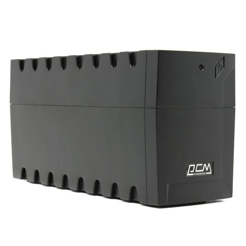 Источник бесперебойного питания UPS Powercom RPT-800A EURO 12/7.2Ah (480V)