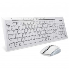Клавиатура и мышь Rapoo 8200 Белый