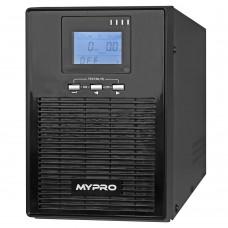 Источник бесперебойного питания UPS MYPRO MP620(S) 2000VA LCD 3x12V/9Ah (1600W)