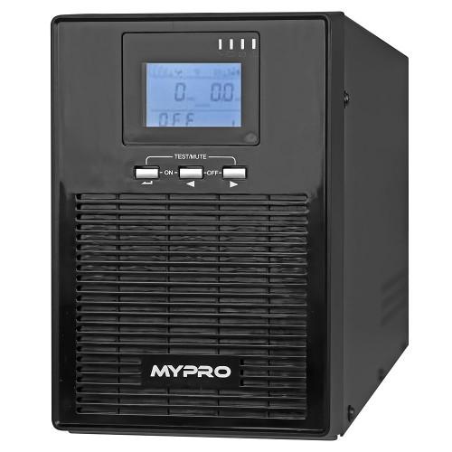 Источник бесперебойного питания UPS MYPRO MP610(S) 1000VA LCD 2x12V/7Ah (800W)
