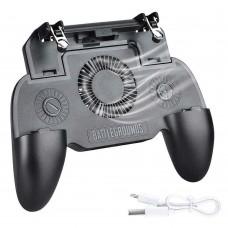 Игровой контроллер SR4000mAh для смартфонов. Геймпад джойстик для мобильных игр (PUBG, Fortnite)