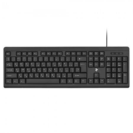 Клавиатура 2E KS108 USB Black