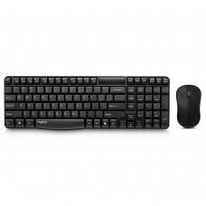 Клавиатура и мышь Rapoo X1810 Wireless USB