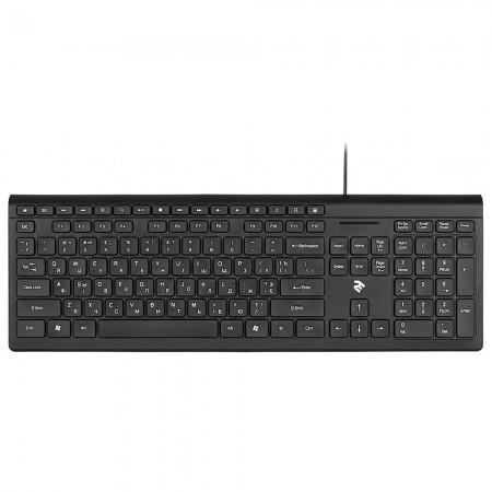 Клавиатура 2E KM1020 Slim USB