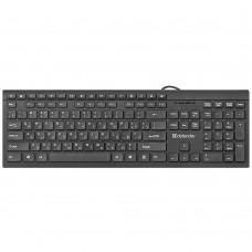 Клавиатура Defender Black Edition SB 550