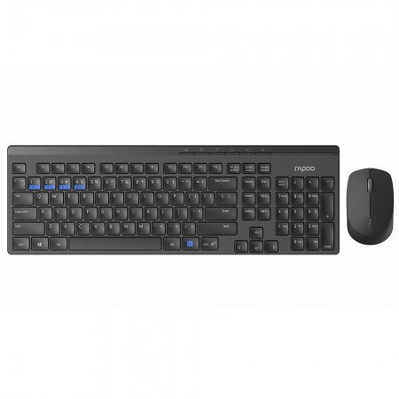 Клавиатура и мышь Rapoo 8100M Wireless USB